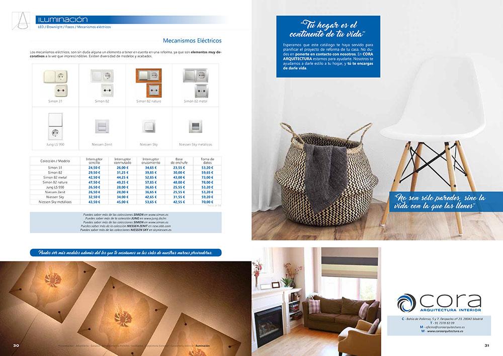 Diseño y maquetación CATALOGO PRODUCTOS Y SERVICIOS CORA ARQUITECTURA 2017 pliego 16