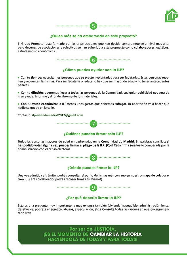 Diseño y maquetación ILP LEY URGENTE DEL DERECHO A LA VIVIENDA EN LA COMUNIDAD DE MADRID Faqs 2