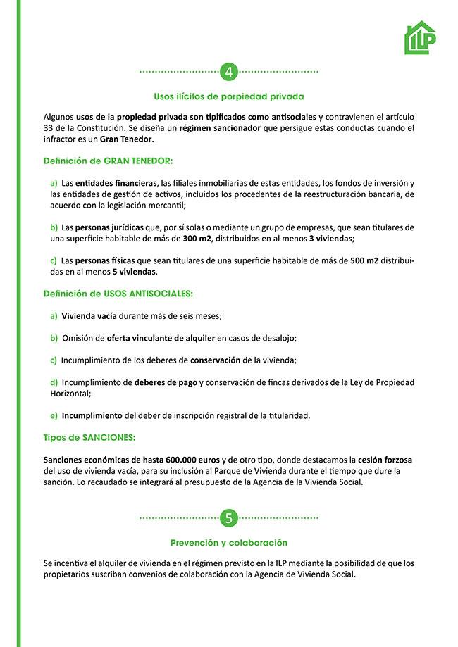 Diseño y maquetación ILP LEY URGENTE DEL DERECHO A LA VIVIENDA EN LA COMUNIDAD DE MADRID Resumen 3