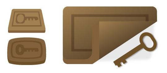 Bocetos diseño Logo APKEYS 1