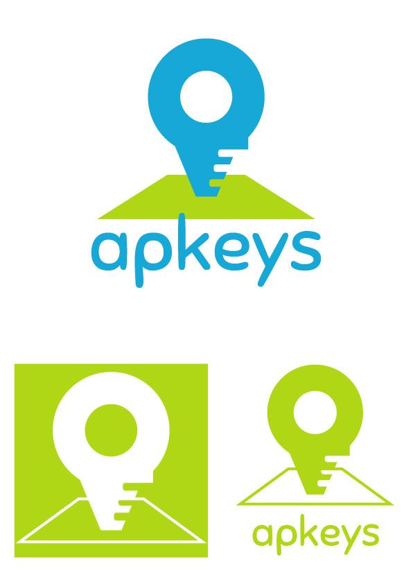 Bocetos diseño Logo APKEYS 03