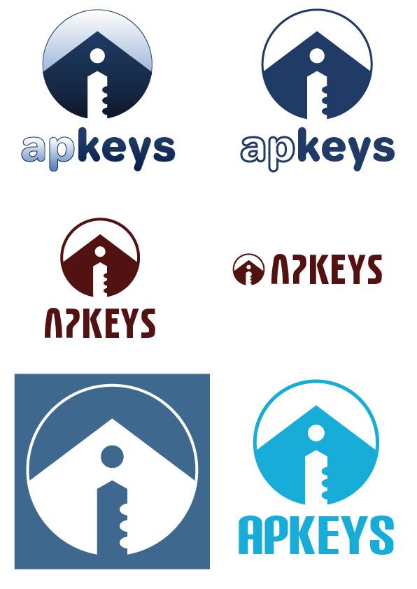 Bocetos diseño Logo APKEYS 01