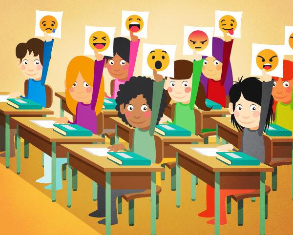 Ilustración blog EMOCIONES EN EL AULA Cambridge University Press