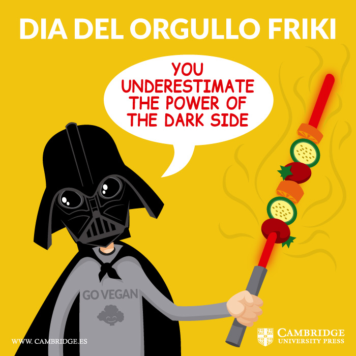 Visual redes sociales DIA DEL ORGULLO FRIKI Cambridge University Press