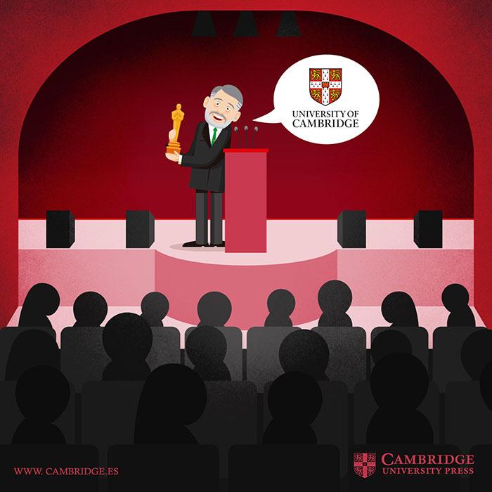 Ilustración blog ESTUDIANTES DE CAMBRIDGE FAMOSOS Cambridge University Press