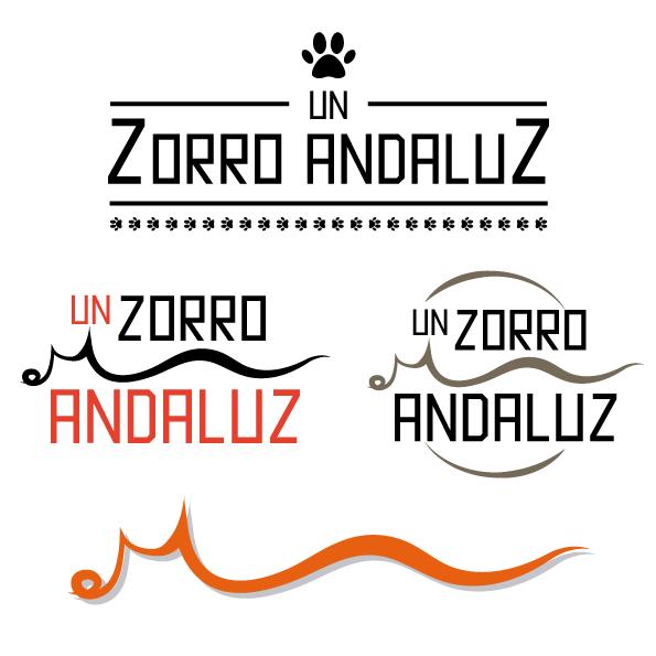 Diseño de logotipo Zorro Andaluz otras propuestas