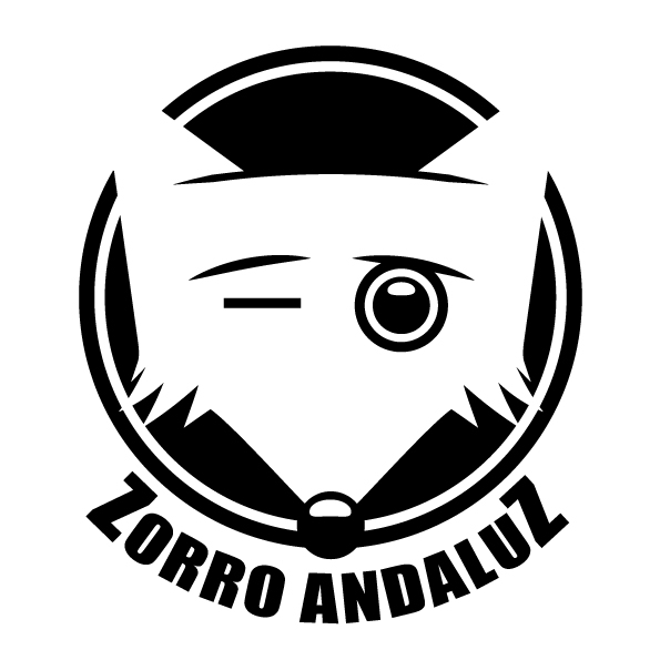 Diseño de logotipo Zorro Andaluz lineas