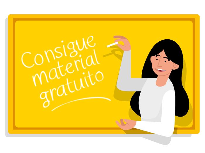 Ilustración Publicitaria vectorial Campaña Exams 2019 modelo 1