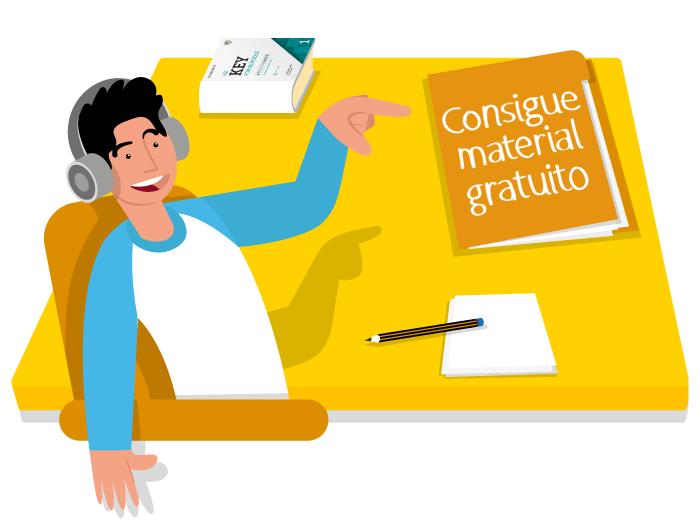 Ilustración Publicitaria vectorial Campaña Exams 2019 modelo 2