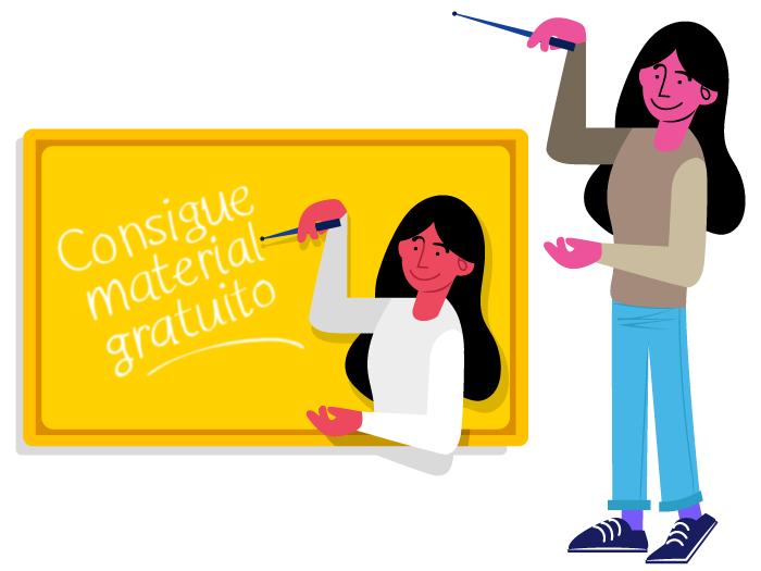 boceto Ilustración Publicitaria Campaña Exams 2019 modelo 2