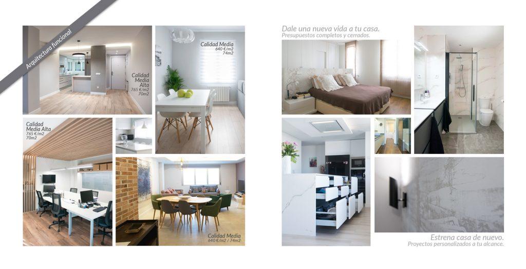 Diseño folleto CORA ARQUITECTURA interior