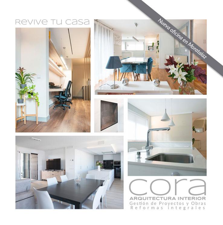 Diseño folleto CORA ARQUITECTURA portada