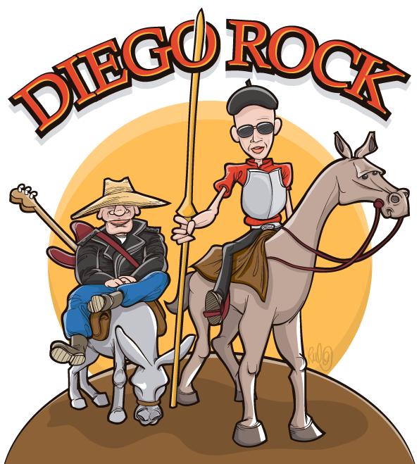 Ilustracion vectorial rerato DIEGOROCK 1