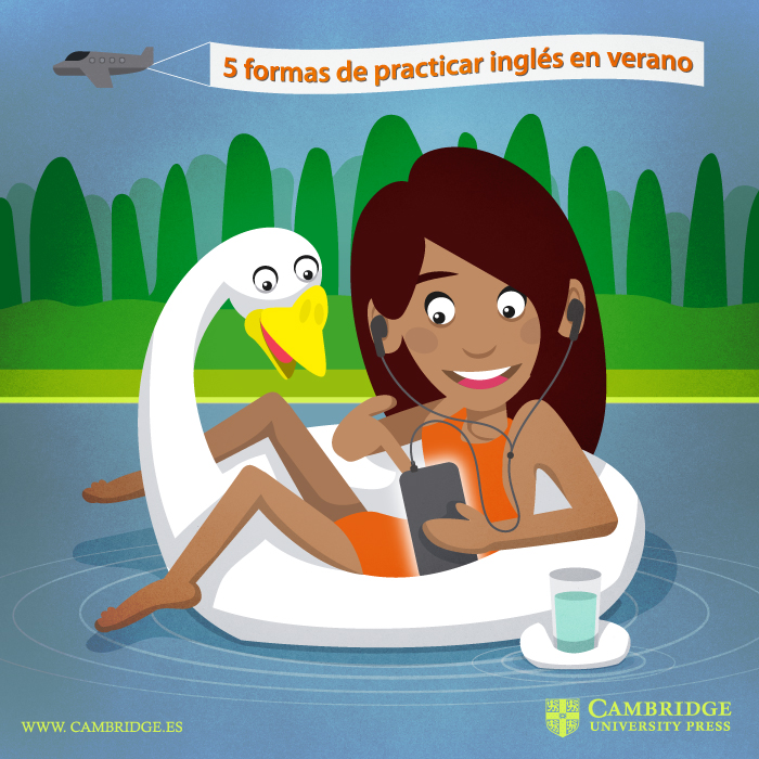 Ilustración blog INGLES EN VERANO