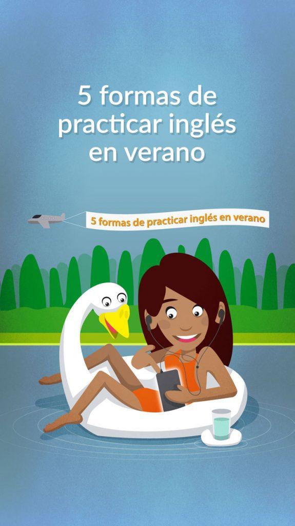 Ilustración blog para Stories INGLES EN VERANO