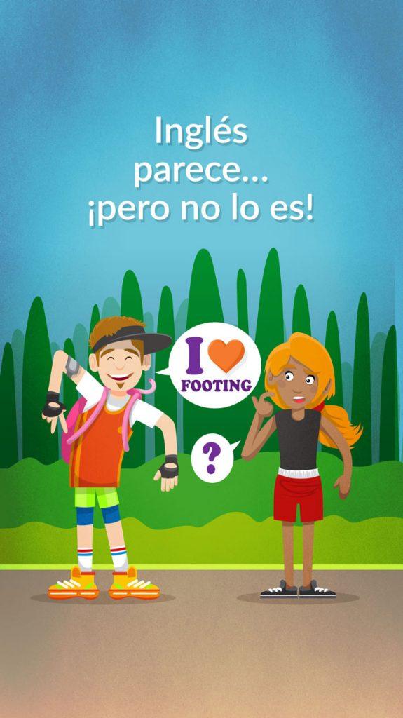 Ilustración blog para Stories FALSOS ANGLICISMOS