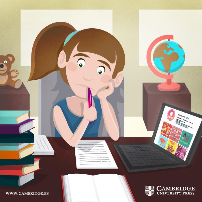 Ilustración blog ALUMNOS A DISTANCIA