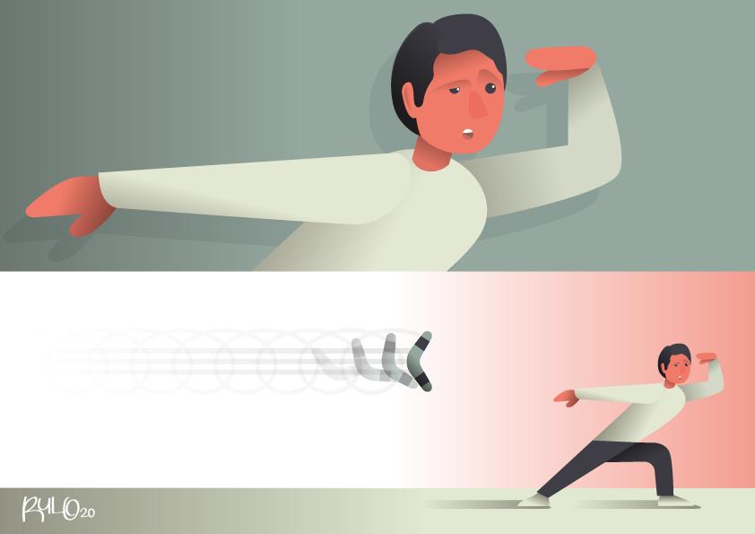 Ilustración vectorial SIEMPRE VUELVE